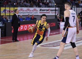 Marco Passera Virtus Roma - Givova Scafati Campionato Basket LNP 2018/2019 Roma 14/04/2019 Foto Gennaro Masi / Ciamillo-Castoria
