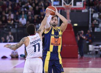Claudio Tommasini Virtus Roma - Givova Scafati Campionato Basket LNP 2018/2019 Roma 14/04/2019 Foto Gennaro Masi / Ciamillo-Castoria