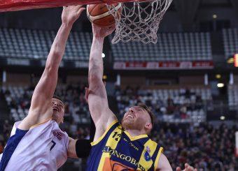 Marco Ammannato Virtus Roma - Givova Scafati Campionato Basket LNP 2018/2019 Roma 14/04/2019 Foto Gennaro Masi / Ciamillo-Castoria