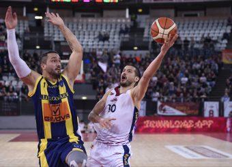Massimo Chessa Virtus Roma - Givova Scafati Campionato Basket LNP 2018/2019 Roma 14/04/2019 Foto Gennaro Masi / Ciamillo-Castoria