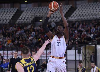 Henry Sims Virtus Roma - Givova Scafati Campionato Basket LNP 2018/2019 Roma 14/04/2019 Foto Gennaro Masi / Ciamillo-Castoria