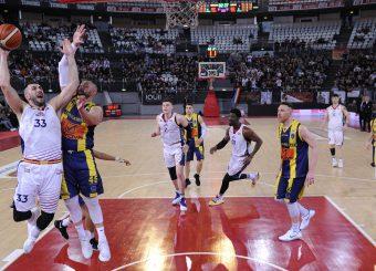 Marco Santiangeli Virtus Roma - Givova Scafati Campionato Basket LNP 2018/2019 Roma 14/04/2019 Foto Gennaro Masi / Ciamillo-Castoria