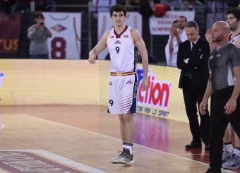 Edoardo Lucarelli Virtus Roma - Givova Scafati Campionato Basket LNP 2018/2019 Roma 14/04/2019 Foto Gennaro Masi / Ciamillo-Castoria