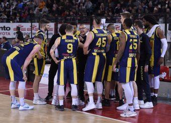 Givova Scafati Virtus Roma - Givova Scafati Campionato Basket LNP 2018/2019 Roma 14/04/2019 Foto Gennaro Masi / Ciamillo-Castoria