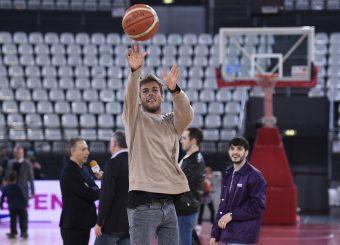 Gregorio Paltrinieri Virtus Roma - Givova Scafati Campionato Basket LNP 2018/2019 Roma 14/04/2019 Foto Gennaro Masi / Ciamillo-Castoria