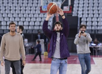 Giacomo Ferrara Virtus Roma - Givova Scafati Campionato Basket LNP 2018/2019 Roma 14/04/2019 Foto Gennaro Masi / Ciamillo-Castoria