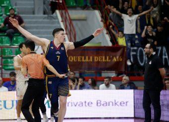 Alibegovic AmarAxpo Legnano Knights - Virtus RomaCampionato LNP 2018/2019Lega Nazionale Pallacanestro Serie A2 / OvestLegnano 21/04/19Ciamillo - Castoria // Foto Vincenzo Delnegro