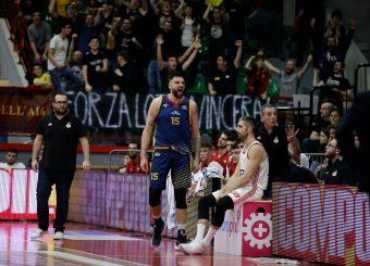 Landi AristideAxpo Legnano Knights - Virtus RomaCampionato LNP 2018/2019Lega Nazionale Pallacanestro Serie A2 / OvestLegnano 21/04/19Ciamillo - Castoria // Foto Vincenzo Delnegro