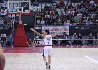 Virtus Roma - Lavoropiu Fortitudo Bologna Campionato Basket LNP 2018/2019 Roma 28/04/2019 Foto Gennaro Masi / Ciamillo-Castoria