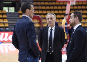 Piero Bucchi Lavoropiu Fortitudo Bologna - Virtus Roma Campionato Basket LNP 2018/2019 Bologna 01/05/2019 Foto Gennaro Masi / Ciamillo-Castoria