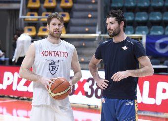 Marco Venuto Roberto Prandin Lavoropiu Fortitudo Bologna - Virtus Roma Campionato Basket LNP 2018/2019 Bologna 01/05/2019 Foto Gennaro Masi / Ciamillo-Castoria