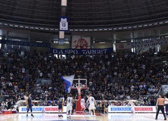 Tifosi Lavoropiu Fortitudo Bologna Lavoropiu Fortitudo Bologna - Virtus Roma Campionato Basket LNP 2018/2019 Bologna 01/05/2019 Foto Gennaro Masi / Ciamillo-Castoria