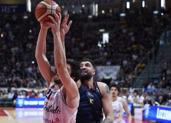 Aristide Landi Lavoropiu Fortitudo Bologna - Virtus Roma Campionato Basket LNP 2018/2019 Bologna 01/05/2019 Foto Gennaro Masi / Ciamillo-Castoria