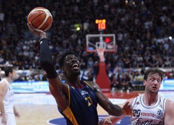 Henry Sims Lavoropiu Fortitudo Bologna - Virtus Roma Campionato Basket LNP 2018/2019 Bologna 01/05/2019 Foto Gennaro Masi / Ciamillo-Castoria