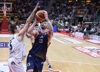 Tommaso Baldasso Lavoropiu Fortitudo Bologna - Virtus Roma Campionato Basket LNP 2018/2019 Bologna 01/05/2019 Foto Gennaro Masi / Ciamillo-Castoria