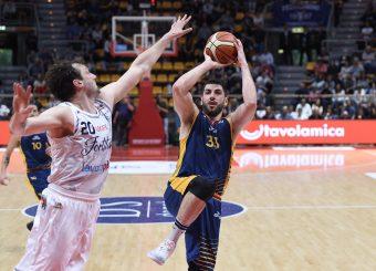 Marco Santiangeli Lavoropiu Fortitudo Bologna - Virtus Roma Campionato Basket LNP 2018/2019 Bologna 01/05/2019 Foto Gennaro Masi / Ciamillo-Castoria