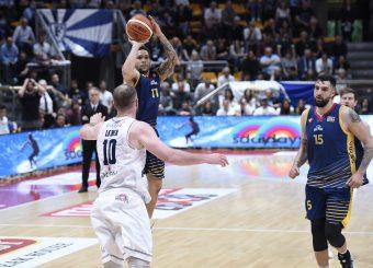 Nic Moore Lavoropiu Fortitudo Bologna - Virtus Roma Campionato Basket LNP 2018/2019 Bologna 01/05/2019 Foto Gennaro Masi / Ciamillo-Castoria