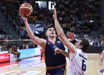 Amar Alibegovic Lavoropiu Fortitudo Bologna - Virtus Roma Campionato Basket LNP 2018/2019 Bologna 01/05/2019 Foto Gennaro Masi / Ciamillo-Castoria