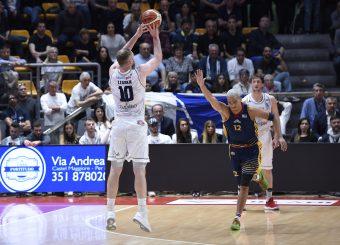 Maarty Leunen Lavoropiu Fortitudo Bologna - Virtus Roma Campionato Basket LNP 2018/2019 Bologna 01/05/2019 Foto Gennaro Masi / Ciamillo-Castoria