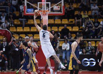 Stefano Mancinelli Lavoropiu Fortitudo Bologna - Virtus Roma Campionato Basket LNP 2018/2019 Bologna 01/05/2019 Foto Gennaro Masi / Ciamillo-Castoria