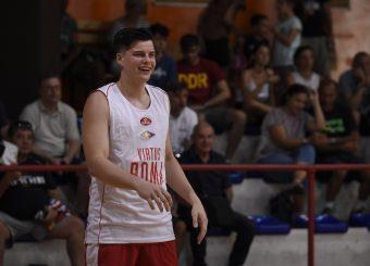 Amar Alibegovic Virtus Roma - Syracuse University Amichevole Roma, 18/08/2019 Foto Gennaro Masi / Ciamillo - Castoria