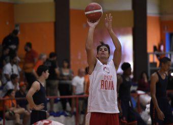 Roberto Rullo Virtus Roma - Syracuse University Amichevole Roma, 18/08/2019 Foto Gennaro Masi / Ciamillo - Castoria