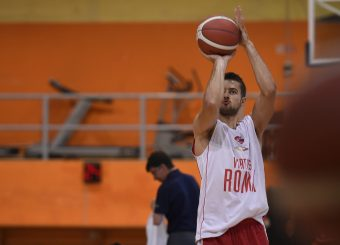 Tomas Kyzlink Virtus Roma - Syracuse University Amichevole Roma, 18/08/2019 Foto Gennaro Masi / Ciamillo - Castoria