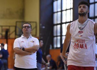 Daniele Michelutti Virtus Roma - Syracuse University Amichevole Roma, 18/08/2019 Foto Gennaro Masi / Ciamillo - Castoria