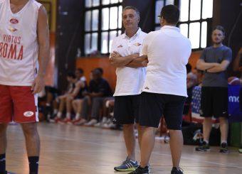 Piero Bucchi Virtus Roma - Syracuse University Amichevole Roma, 18/08/2019 Foto Gennaro Masi / Ciamillo - Castoria