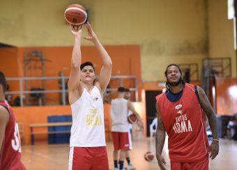 Amar Alibegovic Davon Jefferson Virtus Roma - Scafati Basket Amichevole Roma, 25/08/2019 Foto Gennaro Masi / Ciamillo - Castoria