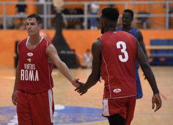 Roberto Rullo Mike Moore Virtus Roma - Scafati Basket Amichevole Roma, 25/08/2019 Foto Gennaro Masi / Ciamillo - Castoria