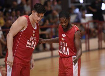 Amar Alibegovic Jerome Dyson Virtus Roma - Scafati Basket Amichevole Roma, 25/08/2019 Foto Gennaro Masi / Ciamillo - Castoria