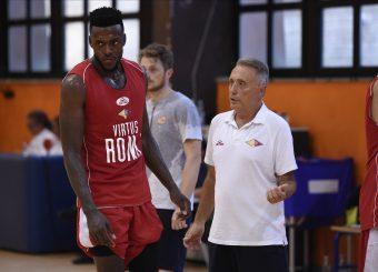 Mike Moore Piero Bucchi Virtus Roma - Scafati Basket Amichevole Roma, 25/08/2019 Foto Gennaro Masi / Ciamillo - Castoria