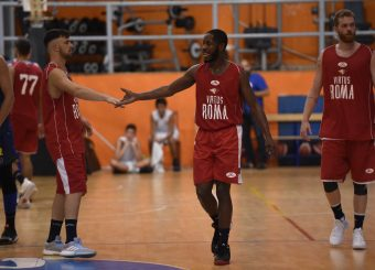 Tommaso Baldasso Jerome Dyson Virtus Roma - Scafati Basket Amichevole Roma, 25/08/2019 Foto Gennaro Masi / Ciamillo - Castoria