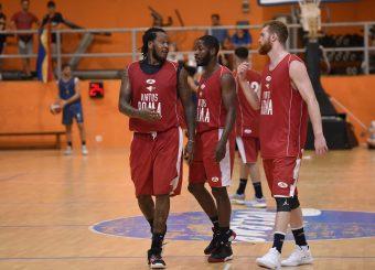 Davon Jefferson Jerome Dyson Giovanni Pini Virtus Roma - Scafati Basket Amichevole Roma, 25/08/2019 Foto Gennaro Masi / Ciamillo - Castoria