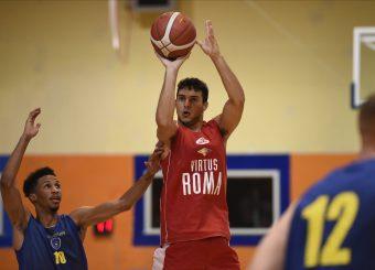 Giovanni Spinosa Virtus Roma - Scafati Basket Amichevole Roma, 25/08/2019 Foto Gennaro Masi / Ciamillo - Castoria