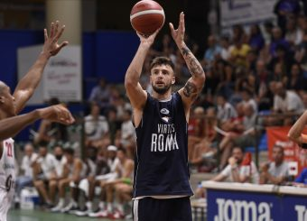 Virtus Roma - Grissin Bon Reggio Emilia 1 Trofeo Dukes Sansepolcro Sansepolcro, 31/08/2019 Foto Gennaro Masi / Ciamillo - Castoria