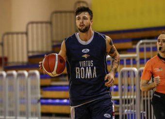 Baldasso Tommaso Virtus Roma - Openjobmetis Varese Trofeo Bertolazzi Parma, 14/09/2019 Foto Ciamillo - Castoria