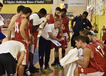 PIERO BUCCHI  Parma 15.09.2019 Torneo amichevole Memorial Bertolazzi Virtus Roma- Senkur Foto GiulioCiamillo/Ciamillo