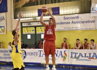 RULLO Parma 15.09.2019 Torneo amichevole Memorial Bertolazzi Virtus Roma- Senkur Foto GiulioCiamillo/Ciamillo