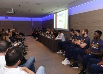 Virtus Roma Media Day Virtus Roma Lega Basket Serie A 2019/2020 Roma, 16/09/2019 Foto Gennaro Masi / Ciamillo-Castoria