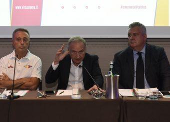 Gianni Petrucci Media Day Virtus Roma Lega Basket Serie A 2019/2020 Roma, 16/09/2019 Foto Gennaro Masi / Ciamillo-Castoria
