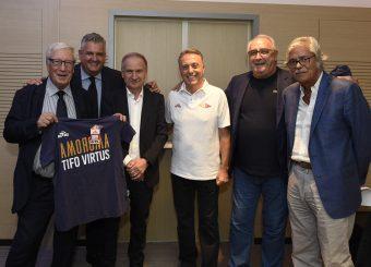 Nicola Tolomei Gianni Petrucci Bucchi Piero Media Day Virtus Roma Lega Basket Serie A 2019/2020 Roma, 16/09/2019 Foto Gennaro Masi / Ciamillo-Castoria