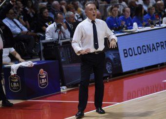 Bucchi Piero Segafredo Virtus Bologna - Virtus Roma Lega Basket Serie A 2019/2020 Bologna, 25/09/2019 Foto Ciamillo-Castoria