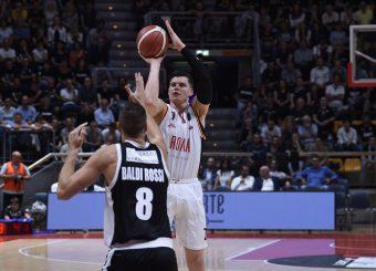 Alibegovic Amar Segafredo Virtus Bologna - Virtus Roma Lega Basket Serie A 2019/2020 Bologna, 25/09/2019 Foto Ciamillo-Castoria