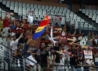 Tifosi Virtus Roma Virtus Roma - Happy Casa Brindisi Lega Basket Serie A 2019/2020 Roma, 29/09/2019 Foto Alfredo De Lise / Ciamillo-Castoria