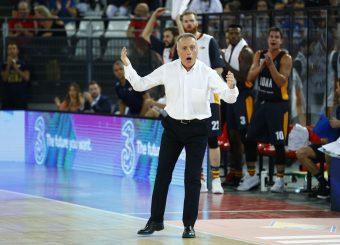 Bucchi Piero Virtus Roma - Happy Casa Brindisi Lega Basket Serie A 2019/2020 Roma, 29/09/2019 Foto Alfredo De Lise / Ciamillo-Castoria