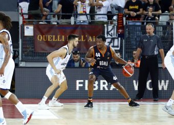 William Buford Virtus Roma - Happy Casa Brindisi Lega Basket Serie A 2019/2020 Roma, 29/09/2019 Foto Alfredo De Lise / Ciamillo-Castoria
