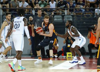 Pini Giovanni Virtus Roma - Happy Casa Brindisi Lega Basket Serie A 2019/2020 Roma, 29/09/2019 Foto Alfredo De Lise / Ciamillo-Castoria