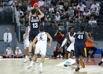 Baldasso Tommaso Virtus Roma - Happy Casa Brindisi Lega Basket Serie A 2019/2020 Roma, 29/09/2019 Foto Alfredo De Lise / Ciamillo-Castoria
